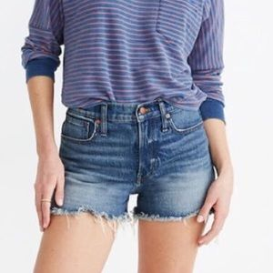 Madewell The Perfect Jean Short Rayburn